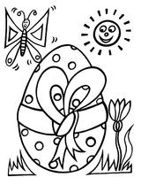 Imprimer le coloriage : Pâques, numéro 398