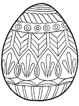 Imprimer le coloriage : Pâques, numéro 410