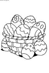 Imprimer le coloriage : Pâques, numéro 4113