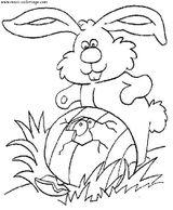 Imprimer le coloriage : Pâques, numéro 4115