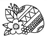 Imprimer le coloriage : Pâques, numéro 4119