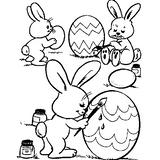 Imprimer le coloriage : Pâques, numéro 4127