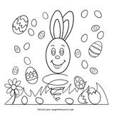 Imprimer le coloriage : Pâques, numéro 5474