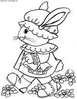 Imprimer le coloriage : Pâques, numéro 5481