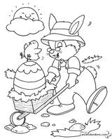 Imprimer le coloriage : Pâques, numéro 56242
