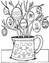 Imprimer le coloriage : Pâques, numéro 61592