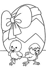 Imprimer le coloriage : Pâques, numéro 755071