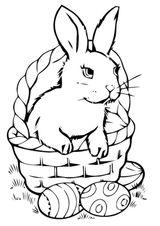 Imprimer le coloriage : Pâques, numéro 7881
