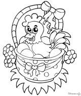 Imprimer le coloriage : Pâques, numéro 809e5f