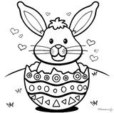 Imprimer le coloriage : Pâques, numéro 87205ffb