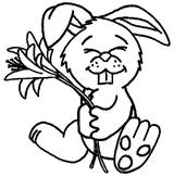 Imprimer le coloriage : Pâques, numéro 9740
