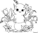 Imprimer le coloriage : Pâques, numéro a029769