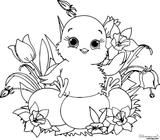 Imprimer le coloriage : Pâques, numéro f5af7533