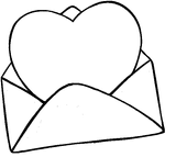 Imprimer le coloriage : Saint-Valentin, numéro 141793