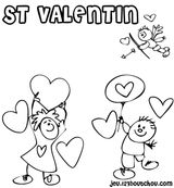 Imprimer le coloriage : Saint-Valentin, numéro 16770
