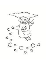 Imprimer le coloriage : Saint-Valentin, numéro 254749ad
