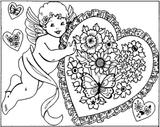 Imprimer le coloriage : Saint-Valentin, numéro 4144
