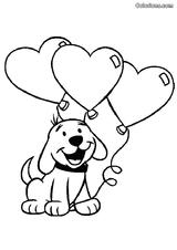 Imprimer le coloriage : Saint-Valentin, numéro 4151