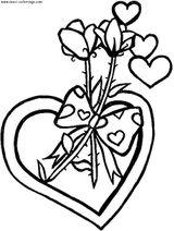 Imprimer le coloriage : Saint-Valentin, numéro 4167