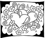 Imprimer le coloriage : Saint-Valentin, numéro 487761