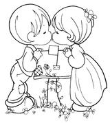 Imprimer le coloriage : Saint-Valentin, numéro 5488