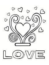 Imprimer le coloriage : Saint-Valentin, numéro 5dc59ba2