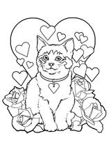 Imprimer le coloriage : Saint-Valentin, numéro 688527