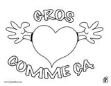 Imprimer le coloriage : Saint-Valentin, numéro a004dcf