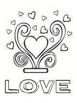 Imprimer le coloriage : Saint-Valentin, numéro a296678f