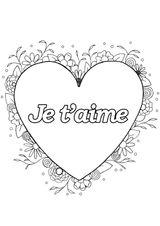 Imprimer le coloriage : Saint-Valentin, numéro b0e9d765