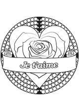 Imprimer le coloriage : Saint-Valentin, numéro b4c412f7