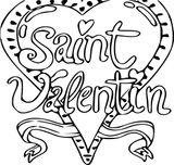 Imprimer le coloriage : Saint-Valentin, numéro e0a9b37d
