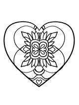Imprimer le coloriage : Saint-Valentin, numéro ee4ee1a9