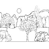 Imprimer le coloriage : Nature, numéro 1552
