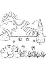 Imprimer le coloriage : Nature, numéro 4823