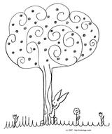 Imprimer le coloriage : Arbres, numéro f3e8bf7