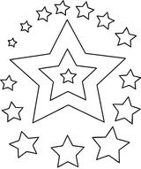 Imprimer le coloriage : Etoile, numéro 55e04696