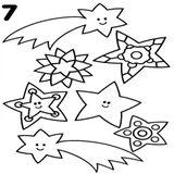 Imprimer le coloriage : Etoile filante, numéro 3d351bd9