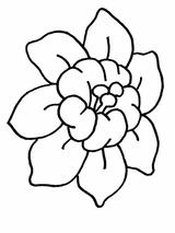 Imprimer le coloriage : Fleurs, numéro 17222