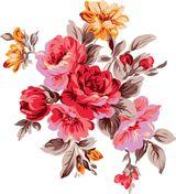 Imprimer le dessin en couleurs : Fleurs, numéro 21213