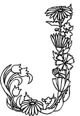 Imprimer le coloriage : Fleurs, numéro 3144