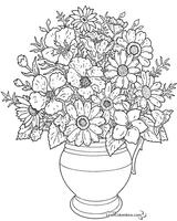 Imprimer le coloriage : Fleurs, numéro 4e346173
