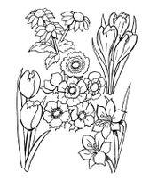 Imprimer le coloriage : Fleurs, numéro 6942