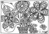 Imprimer le coloriage : Fleurs, numéro 6f6e6893