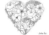 Imprimer le coloriage : Fleurs, numéro 93410472