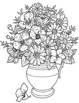 Imprimer le coloriage : Fleurs, numéro bdff5e15