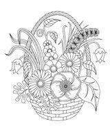 Imprimer le coloriage : Fleurs, numéro e5eef848