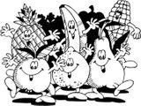 Imprimer le coloriage : Fruits numéro 469207