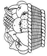 Imprimer le coloriage : Fruits, numéro 469211