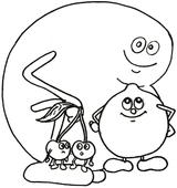 Imprimer le dessin en couleurs : Fruits, numéro 476763